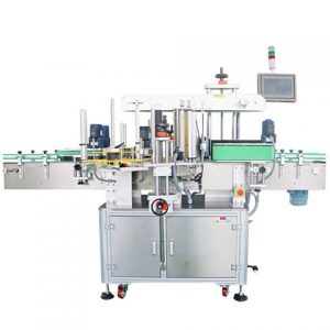 Flat Surface Labeling Machine On The Box