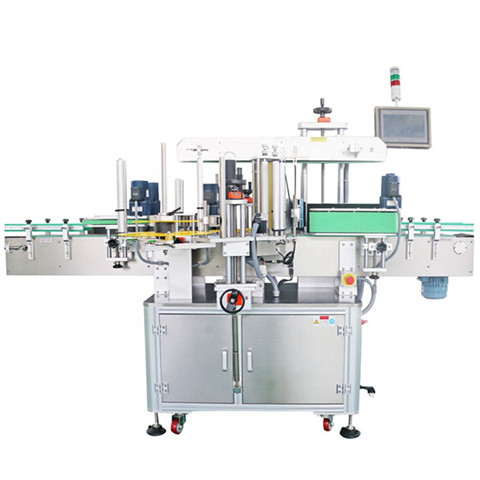 YTK Semi automatic Round Bottle Labeling Machine Transparent...