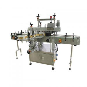 Double Sides Canola Oil Bottle Sticker Labeling Machine
