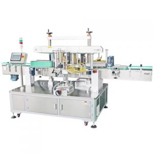 Rectangular Olive Oil Tin Can Labeling Machine