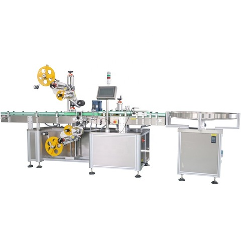 Automatic High accuracy Labeling Machine for round bottles and...