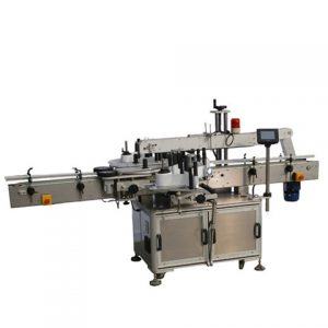 Automatic Paper Plastic Cup Sticker Side Labeling Machine