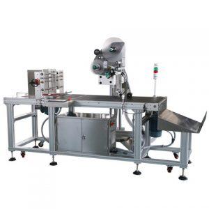 Automatisk kartonbakke, der vejer udskrivningsmærkningsmaskine