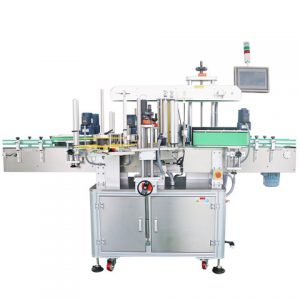 Bottle Bottom And Side Labeling Machine
