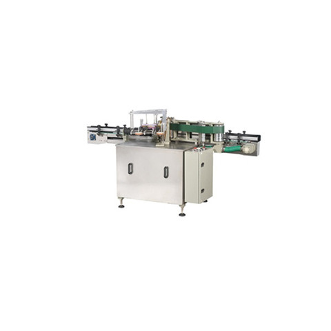 Automatic Double Nozzles Weighing Filling Capping Labeling Line...