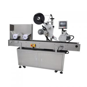 Top Labeling Machine For Plastic Cups Bottle Neck