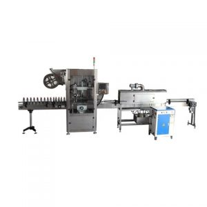 Factory Price Automatic Sticker Round Canister Labeling Machine