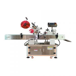 Automatic Adhesive Sticker Labeling Machine Round Bottle