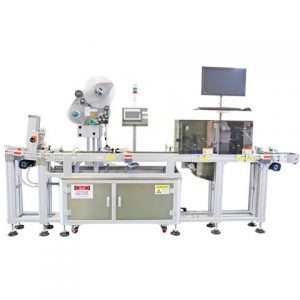 Full Automatic Aerosol Can Sticker Labeling Machine