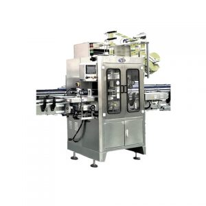 Spice Powder Plastic Round Bottle Labeling Machines