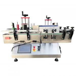 Automatic Egg Box Labeling Machine With Feeding Device
