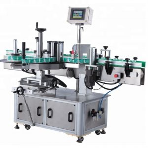 Square Cans Sticker Labeling Machine