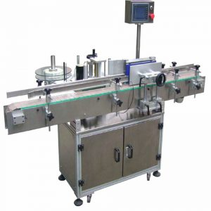 Automatic Round Bottle Labeling Packing Machine