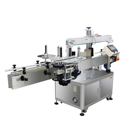 automatic round oil bottle labeling machine, automatic round oil...