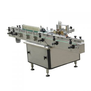 Automatic Adhesive Sticker Zip Plastic Bag Labeling Machine