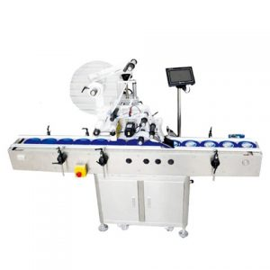 Poly Bag Labeling Machine