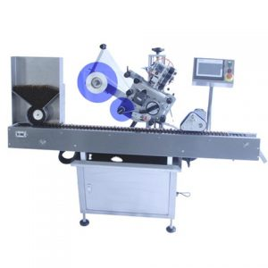 Flat Box Top Surface Labelling Machine
