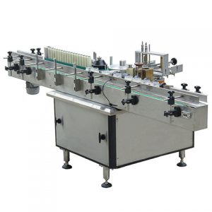 Labeling Machine On Plastic Bag