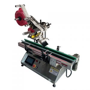 Automatic Flat Pouch Box Labeling Machine