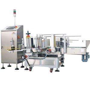 Lube Oil Bottle Labeling Machine