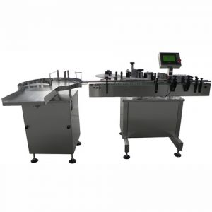 Handle Bucket Front Back Labeling Machine