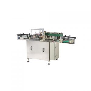 Package Box Corner Labeling Machine