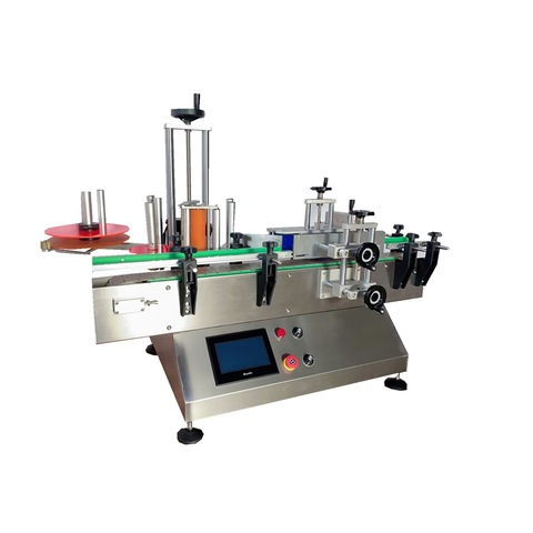 Central Sealing and Auto Labeling Side Gusset Bag Making Machine