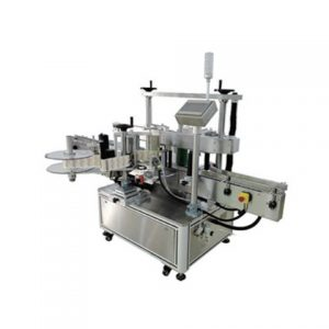 One Sticker Square Bottle Wrap Labeling Machine