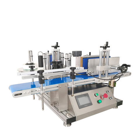 Semi Automatic Flat Bottle Labeling Machine — True Identity of...
