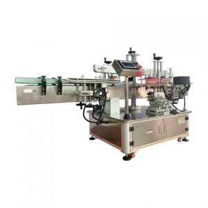 Packed Lunch Box Labeling Machine