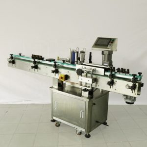 Automatic Label Applicator For Container
