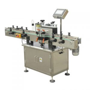 Metal Cans Lid Labeling Machine