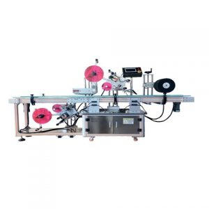 Honey Jars Two Sticker Labeling Machine