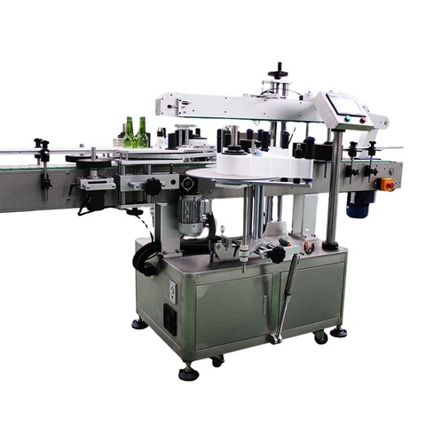 Double Side Sticker Labelling Machine For Shampoo And ...