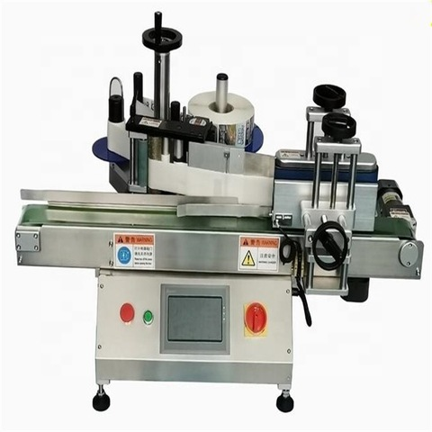 Automatic Round Wine Bottle Stick Labeling Machine