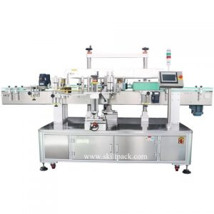 Horizontal Way Sticker Weight Loss Capsules Labeling Machine