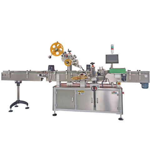 Automatic Sticker Labeling Machine , Liquid Detergent ...