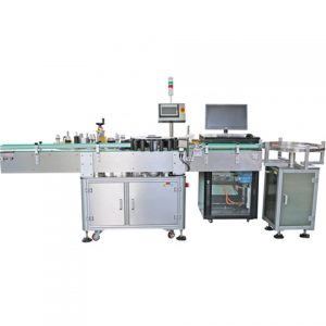 Front Back Bottom Labeling Machine