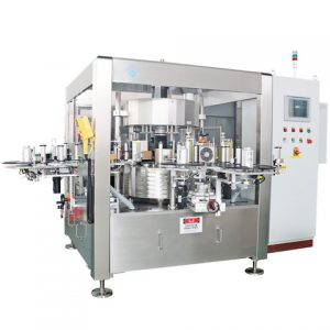 Automatic Round Pepper Spray Bottle Labeling Machine