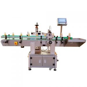 Paper Label Labeling Machine Used For Round Bottles
