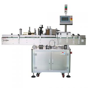 Vertical Bottle Paste Labeling Machine
