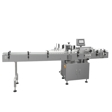 semi automatic shampoo bottle labeling machines flat bottles...