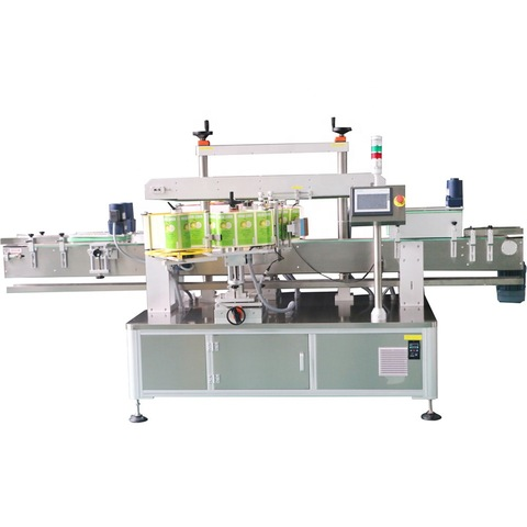 Скачать 10ml ampoule labeling machine with transparent label...