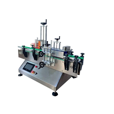 Automatic Double-sided Labeling Machine for Floor Cleaner ...