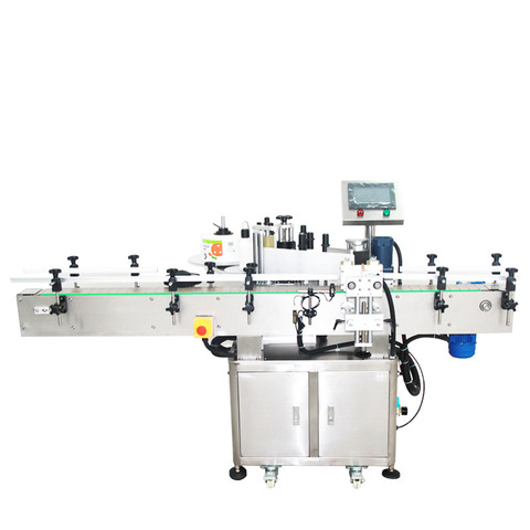 Conical Whisky Bottle Labeling - BenchMAX Labelling Machine