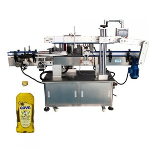 Automatic Plane Bottle Surface Labeling Machine