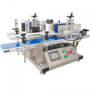 Sticker Automatic Flat Labeling Machine
