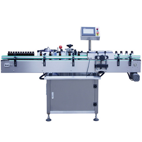 Automatic Round Bottle Labeling Machine, Juice Glass Bottle Label...