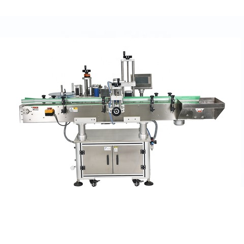 Wraparound Label Applicator for small bottles and cylindrical products