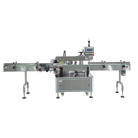 Stainless Steel Double Side Labeling Machine For Square Round...